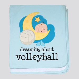 Dreaming About Volleyball baby blanket