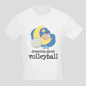 Dreaming About Volleyball Kids Light T-Shirt