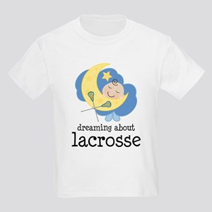 Dreaming About Lacrosse Kids Light T-Shirt