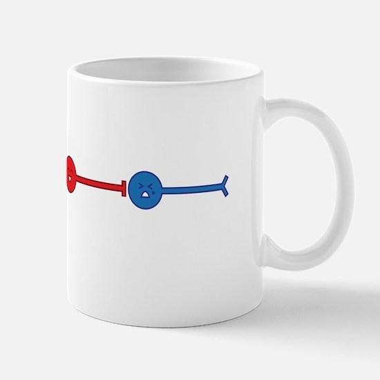 Red Neuron, Blue Neuron... Mug