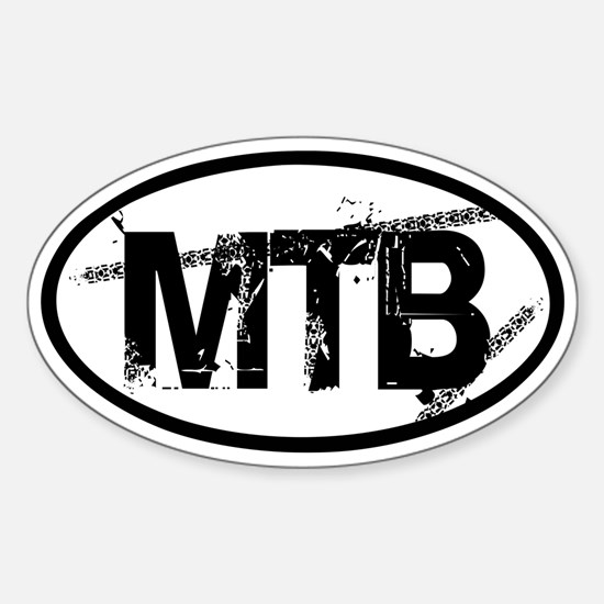 MTB Oval Sticker (Oval)
