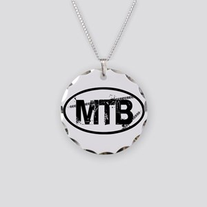 MTB Oval Necklace Circle Charm