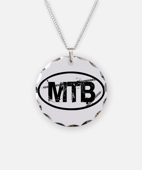 MTB Oval Necklace