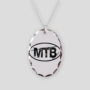 MTB Oval Necklace Oval Charm