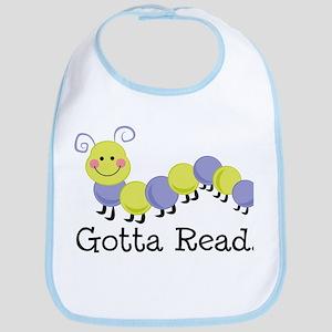 Bookworm Gotta Read Bib