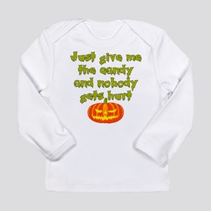 Give me the candy Long Sleeve Infant T-Shirt