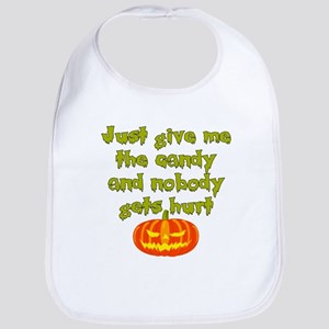 Give me the candy Bib