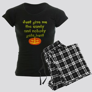 Give me the candy Women's Dark Pajamas