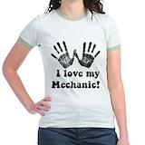 Auto mechanic Jr. Ringer T-Shirt