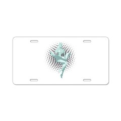 Marilyn Robot Aluminum License Plate