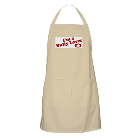 I'm a Bully Lover! BBQ Apron