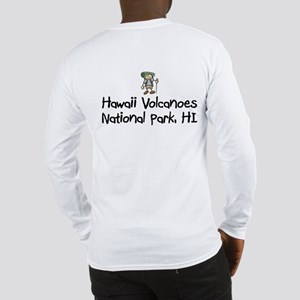 Hike Hawaii Volcanoes (Boy) Long Sleeve T-Shirt