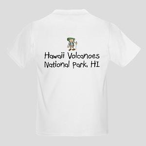 Hike Hawaii Volcanoes (Boy) Kids Light T-Shirt
