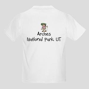 Hike Arches (Girl) Kids Light T-Shirt
