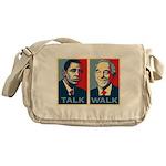 Walk the Talk Messenger Bag