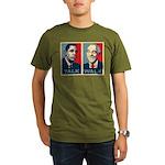 Walk the Talk Organic Men's T-Shirt (dark)
