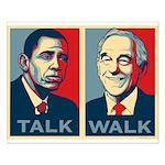 Walk the Talk Small Poster
