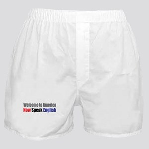 Speak English Boxer Shorts