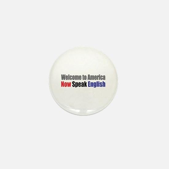 Speak English Mini Button