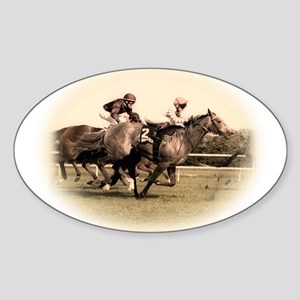 Old style photograph design o Sticker (Oval)
