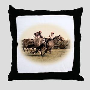 Old style photograph design o Throw Pillow