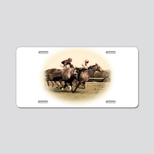 Old style photograph design o Aluminum License Pla