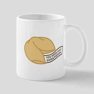 You have just eaten poison. Mug