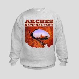 Arches National Park Kids Sweatshirt