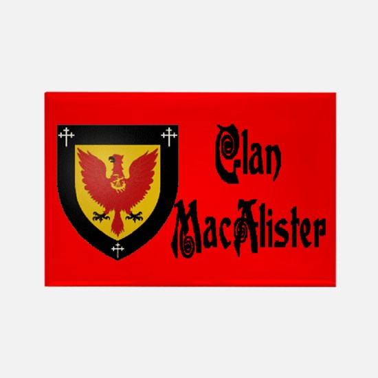 Clan MacAlister Rectangle Magnet