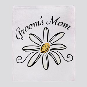 Daisy Mother of Groom Throw Blanket