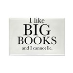 I LIke Big Books Rectangle Magnet (100 pack)
