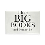 I LIke Big Books Rectangle Magnet (10 pack)