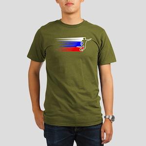 Football - Russia Organic Men's T-Shirt (dark)