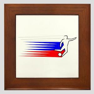 Football - Russia Framed Tile