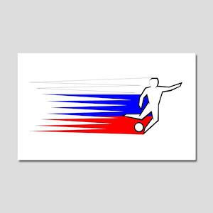 Football - Russia Car Magnet 20 x 12