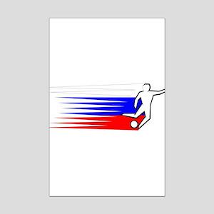 Football - Russia Mini Poster Print
