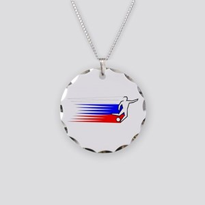 Football - Russia Necklace Circle Charm