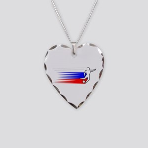 Football - Russia Necklace Heart Charm