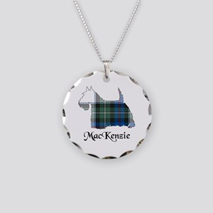 Terrier-MacKenzie dress Necklace Circle Charm