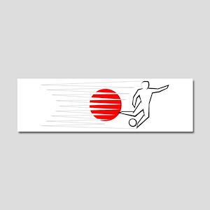 Football - Japan Car Magnet 10 x 3