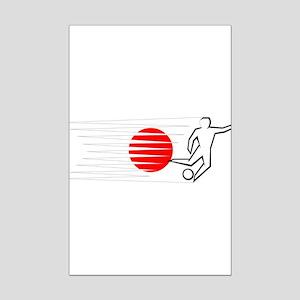 Football - Japan Mini Poster Print
