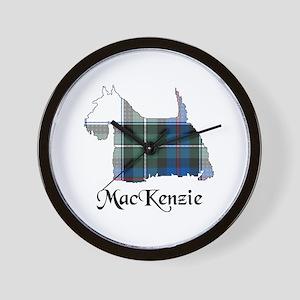 Terrier-MacKenzie dress Wall Clock