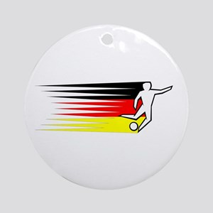 Football - Germany Ornament (Round)