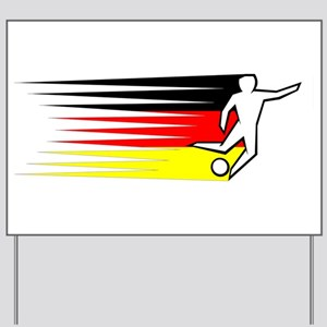 Football - Germany Yard Sign