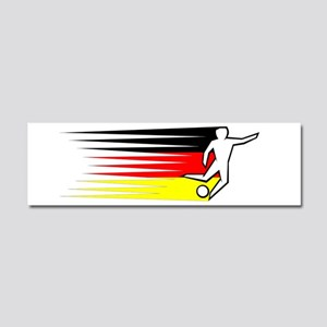 Football - Germany Car Magnet 10 x 3