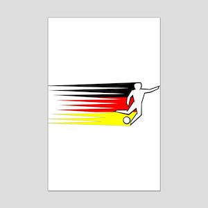 Football - Germany Mini Poster Print