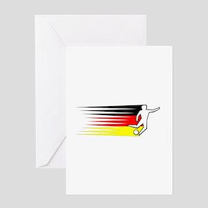Football - Germany Greeting Card