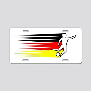 Football - Germany Aluminum License Plate