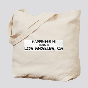 Happiness is Los Angeles Tote Bag
