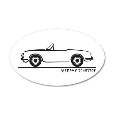 Alfa Romeo Giulietta Spider Wall Decal by FrankSchuster